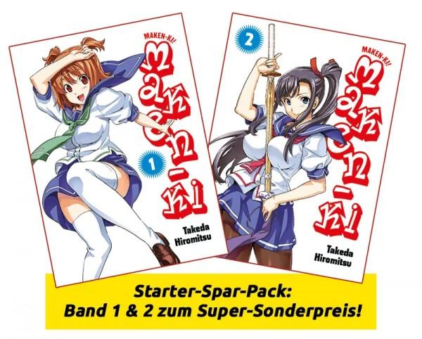 Maken-Ki Pack Band 1-2