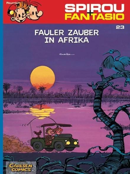 Spirou und Fantasio 23: Fauler Zauber in Afrika