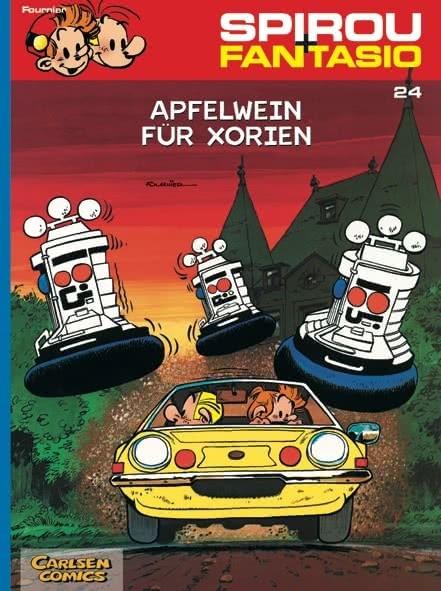 Spirou und Fantasio 24: Apfelwein für Xorien