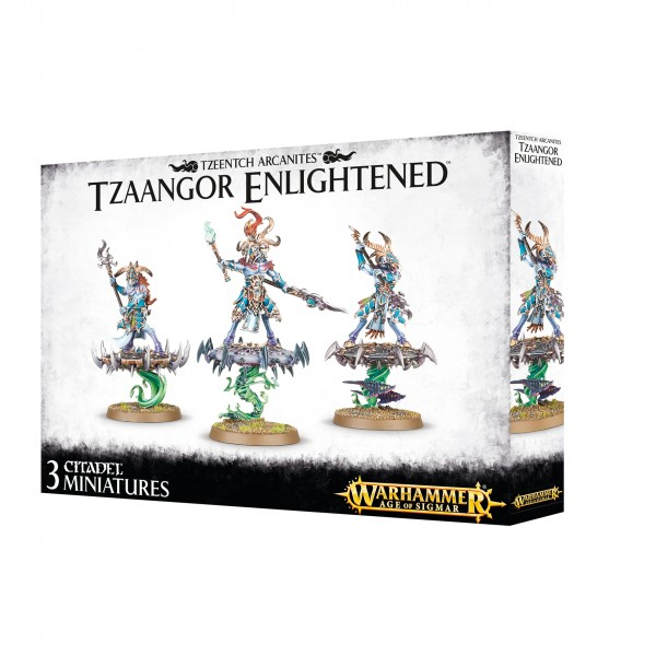 Tzeentch Arcanites - Tzaangor Enlightened