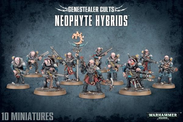 Genestealer Cults - Neophyte Hybrids