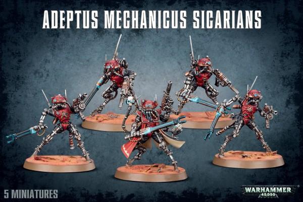 Adeptus Mechanicus - Sicarians