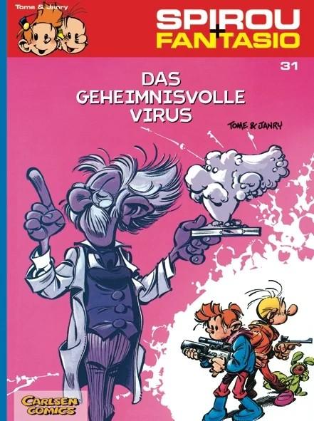 Spirou und Fantasio 31: Das geheimnisvolle Virus