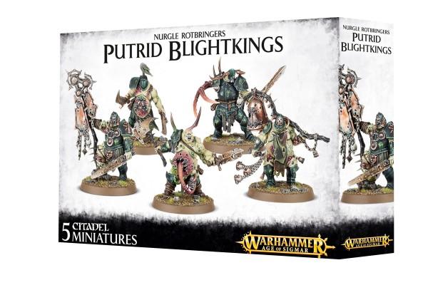 Nurgle Rotbringers - Putrid Blightkings