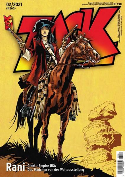 Zack Magazin 260 - Februar 2021