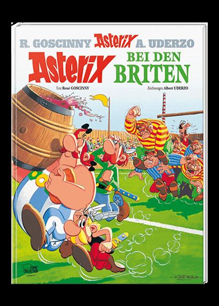 Asterix Nr. 8: Asterix bei den Briten - gebundene Ausgabe