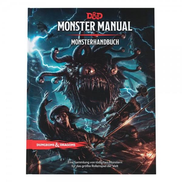 Dungeons & Dragons RPG Monsterhandbuch deutsch (2021)