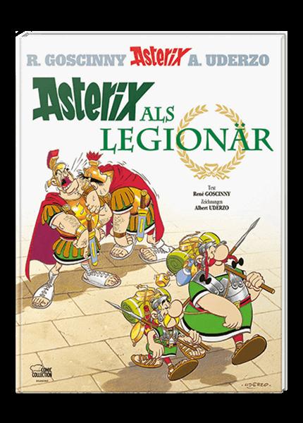 Asterix Nr. 10: Asterix als Legionär - gebundene Ausgabe
