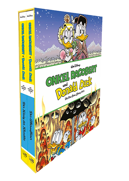 Onkel Dagobert und Donald Duck - Don Rosa Library Schuber Nr. 3 - Band 5+6