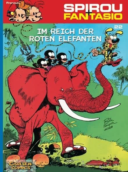 Spirou und Fantasio 22: Im Reich der roten Elefanten