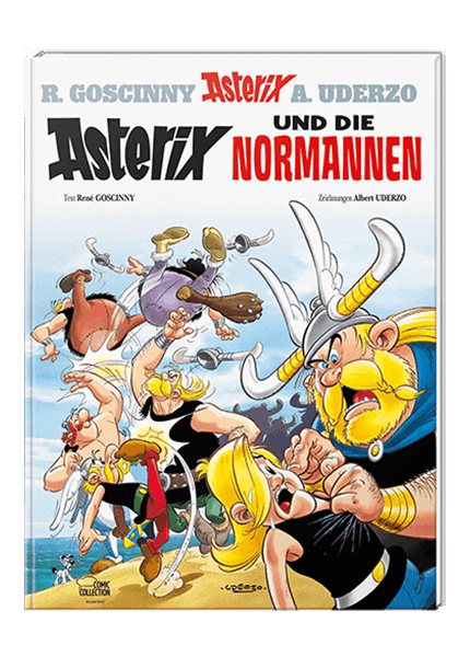 Asterix Nr. 9: Asterix und die Normannen - gebundene Ausgabe