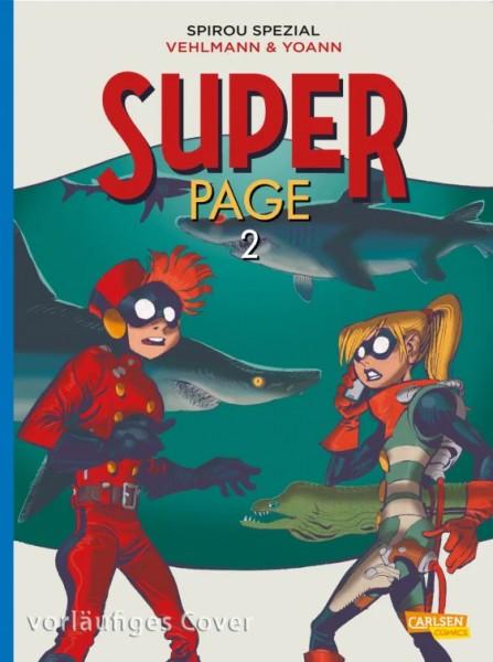 Spirou und Fantasio Spezial 33: Der Superpage 2