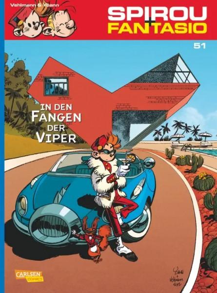 Spirou und Fantasio 51: In den Fängen der Viper