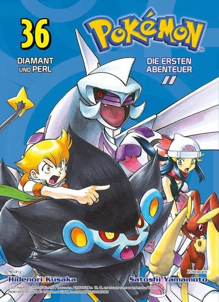 Pokémon - Die ersten Abenteuer 36 - Diamant und Perl