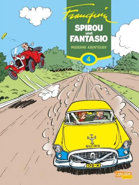 Spirou und Fantasio Gesamtausgabe 4: Moderne Abenteuer