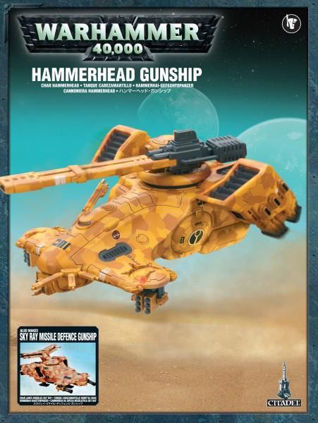 Tau Empire - Hammerhai-Gefechtspanzer / Dornenhai-Raketenpanzer