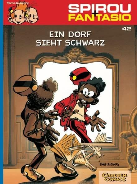 Spirou und Fantasio 42: Ein Dorf sieht schwarz