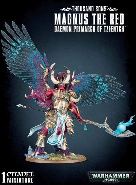 Thousand Sons - Magnus The Red Deamon Primarch of Tzeentch