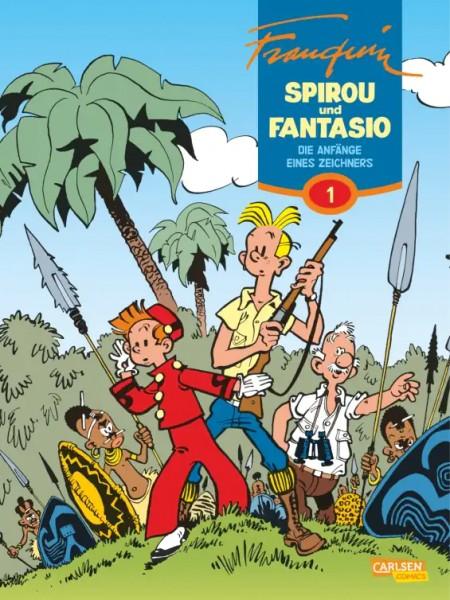Spirou und Fantasio Gesamtausgabe 1: Die Anfänge eines Zeichners