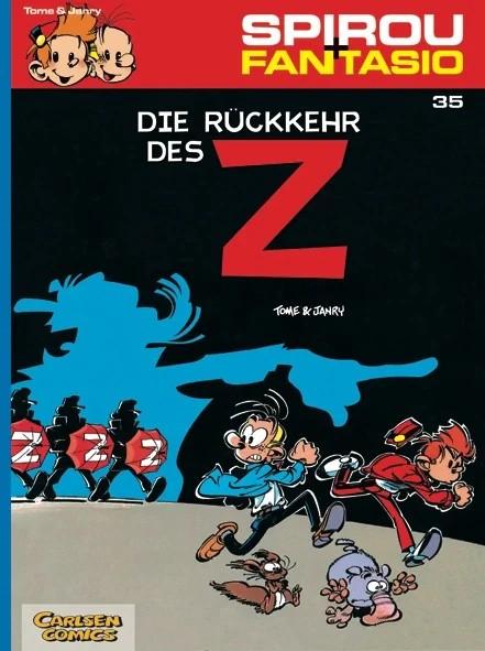 Spirou und Fantasio 35: Die Rückkehr des Z