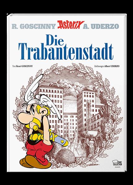 Asterix Nr. 17: Die Trabantenstadt - gebundene Ausgabe