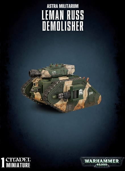 Astra Militarum - Leman Russ Demolisher