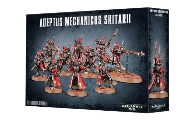 Adeptus Mechanicus - Skitarii Rangers / Vanguards